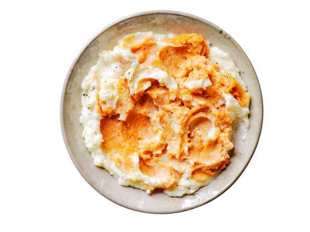 Фотография блюда - Сладкое картофельное пюре