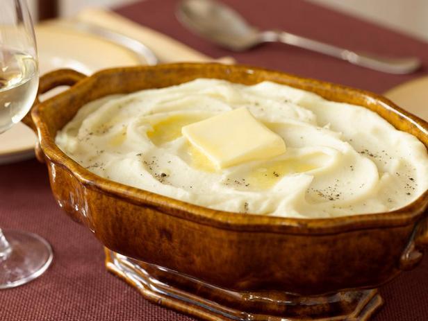 Фотография блюда - Картофельное пюре для праздничного стола