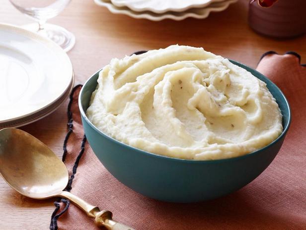 Фотография блюда - Пюре из корня сельдерея и картофеля