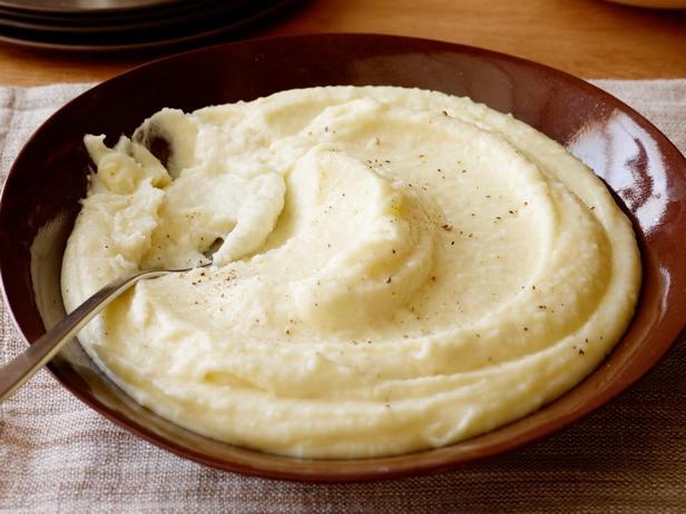 Фотография блюда - Кремовое картофельное пюре