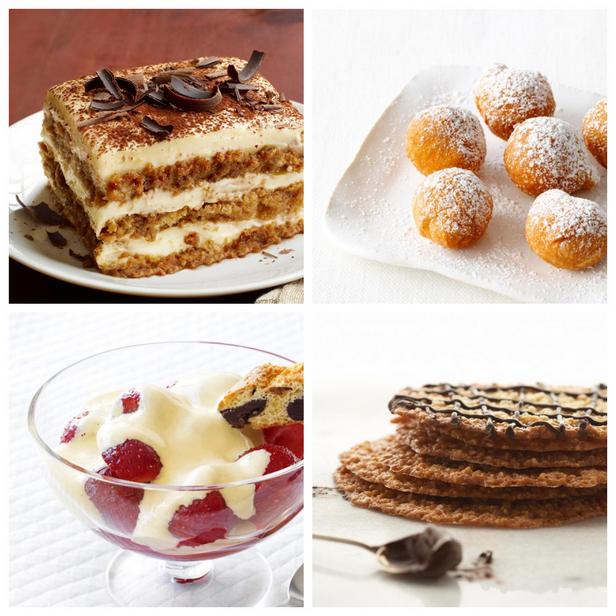 Фото Рецепты классических итальянских десертов