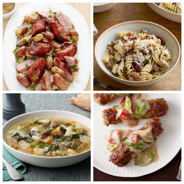 Фото Лучшие блюда с колбасками и купатами