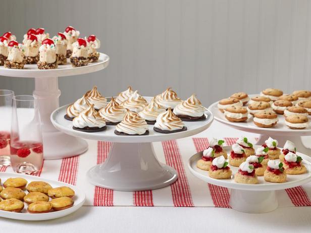 Фото Миниатюрные десерты для вечеринки, 5 рецептов