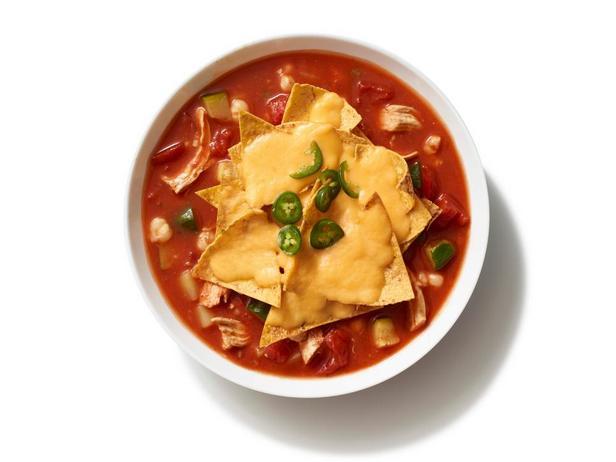 Фотография блюда - Куриный начо-суп в медленноварке