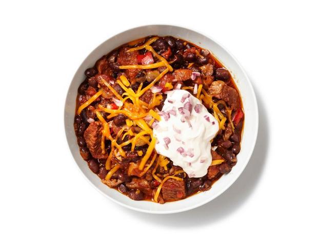 Фотография блюда - Чили со свининой и говядиной