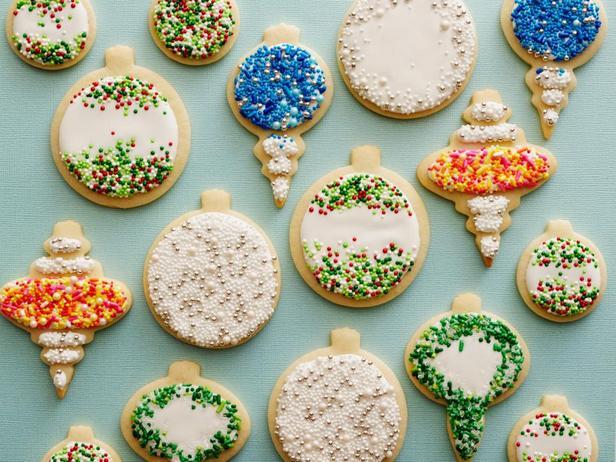 Фотография блюда - Классическое песочное печенье с глазурью