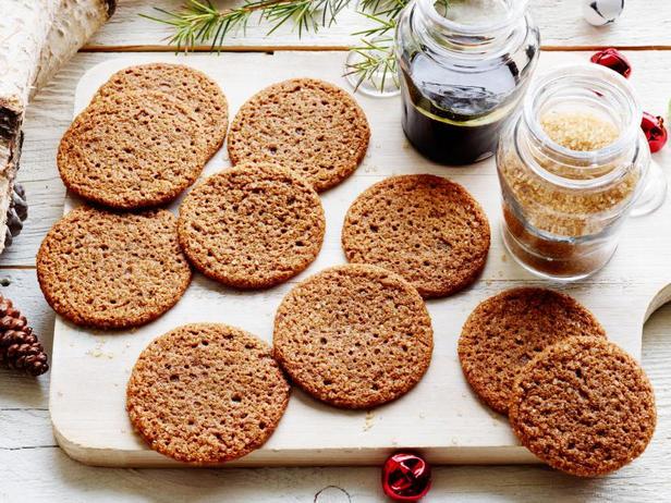 Фото блюда - Печенье с мелассой
