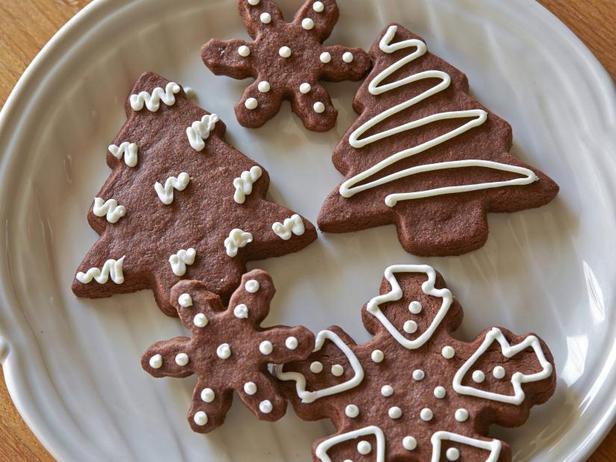 Фото блюда - Фигурное печенье