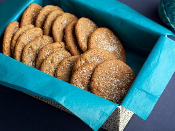 Фотография блюда - Имбирное печенье со свежим имбирем