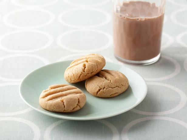 Фотография блюда - Печенье с арахисовым маслом