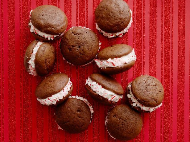 Фото блюда - Шоколадно-мятное печенье «Вупи пай»