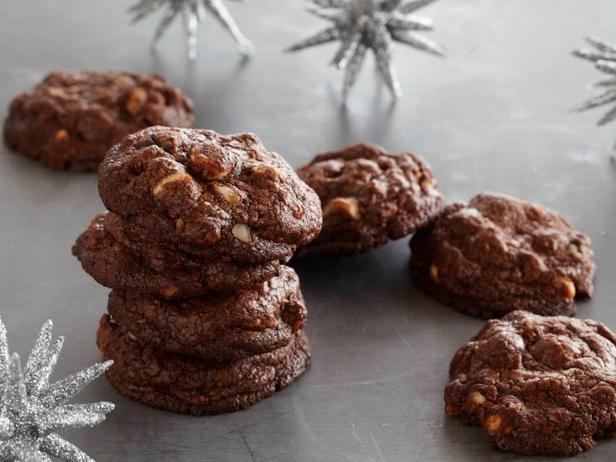 Фотография блюда - Печенье «Три шоколада»