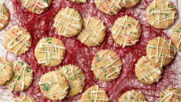 Фото блюда - Рождественское печенье «Конфетти»