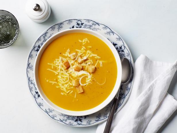 Фото Зимний тыквенный суп