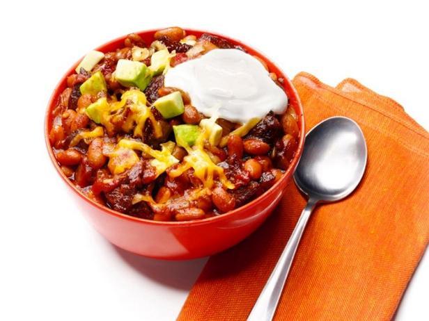 Фотография блюда - Чили кон карне с фасолью