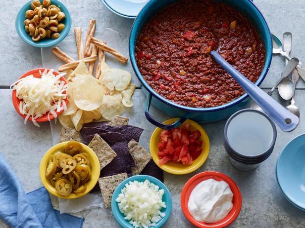 Фотография блюда - Осенний мясной соус чили из индейки