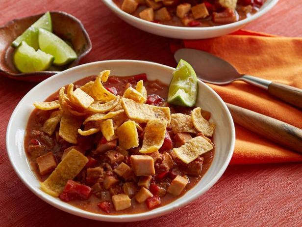 Фотография блюда - Мексиканский чили с чоризо и индейкой