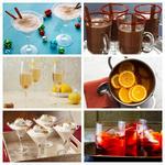 Рецепты зимних праздничных коктейлей и напитков