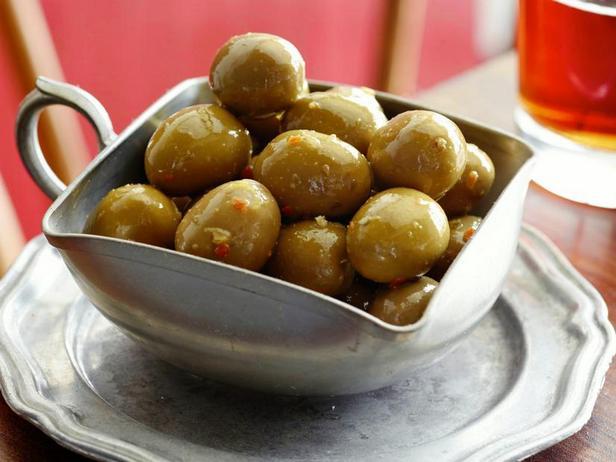 Фото Маринованные оливки в цитрусовом маринаде