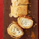 Штрудель с начинкой из голубого сыра и пекана