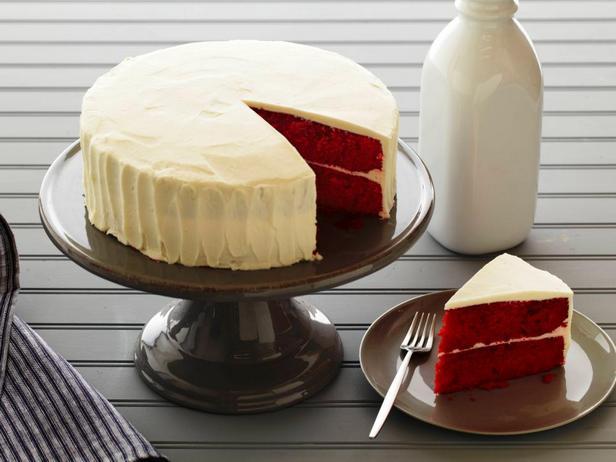 Фотография блюда - Фантастический торт «Красный бархат»