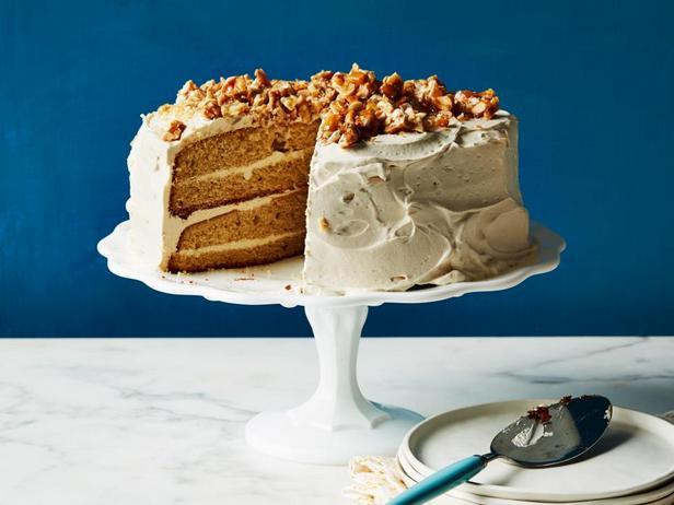 Фотография блюда - Арахисовый торт с кремом из арахисовой пасты