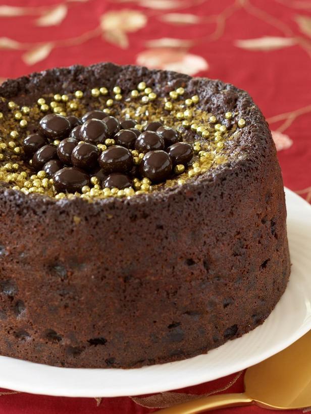 Фотография блюда - Шоколадный кекс с черносливом
