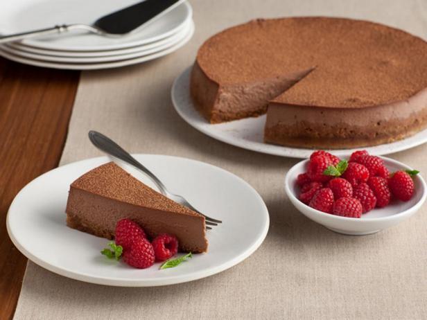 Фотография блюда - Трюфельно-шоколадный чизкейк