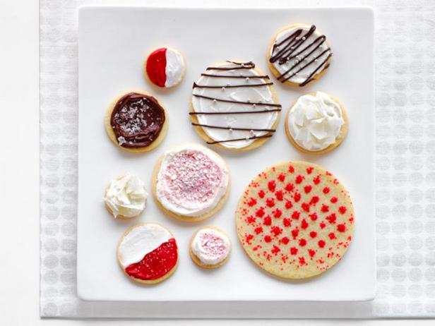 Фотография блюда - Сахарное печенье