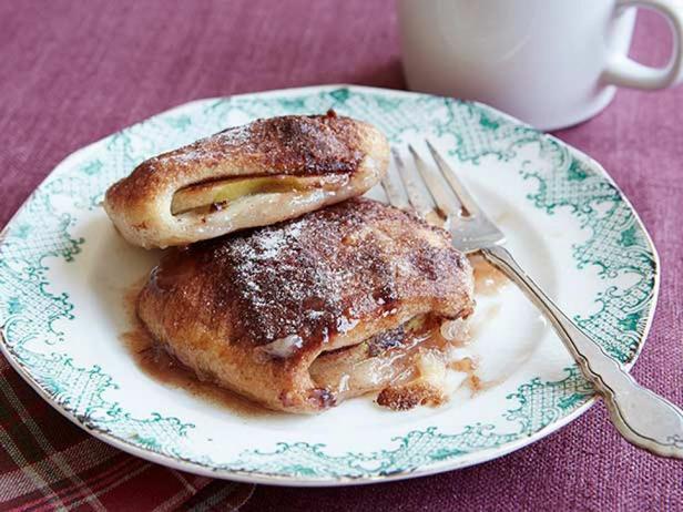 Фотография блюда - Яблоки в слоеном тесте