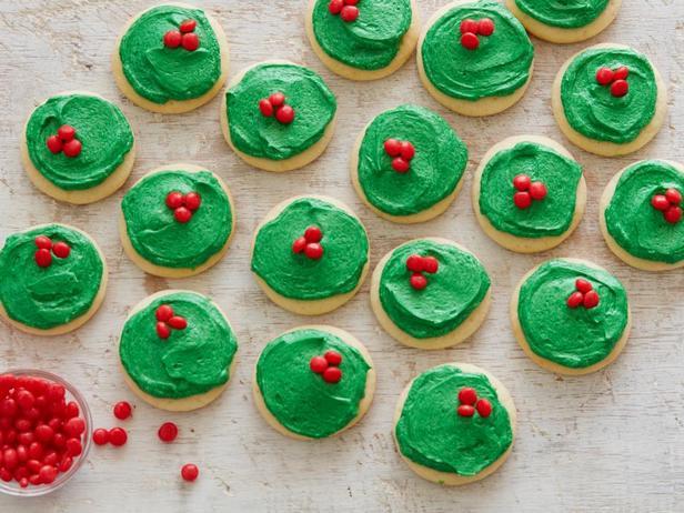 Фотография блюда - Рождественское печенье с глазурью