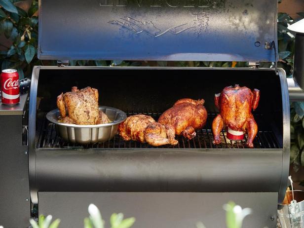 Фото Курица на гриле целиком: 6 рецептов