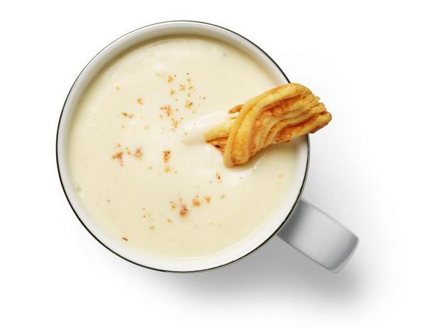 Фото Крем-суп из цветной капусты с чеддером
