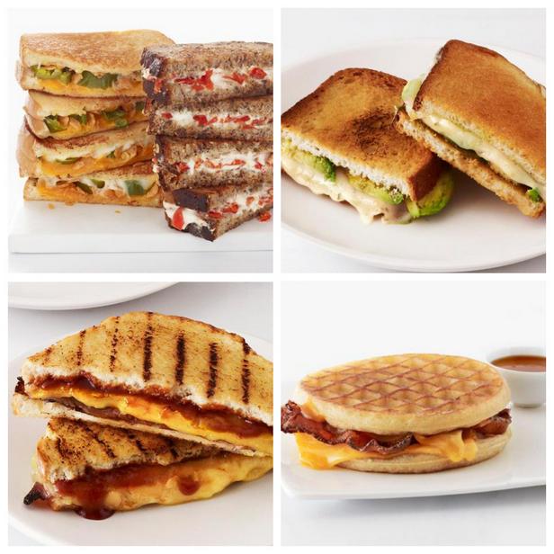 Фото 50 рецептов горячих сэндвичей с сыром