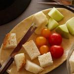 Сырное фондю с белым вином