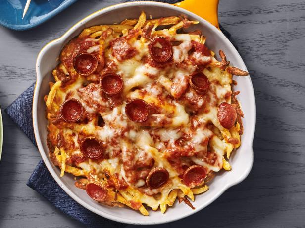 42. «Пицца» из картофеля фри