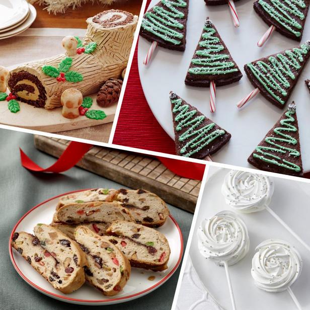 Фото Новогодние десерты, 24 рецепта