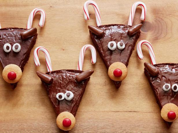 Брауни «Рождественские олени»