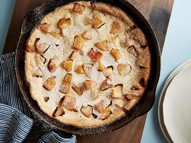 Фото Яблочные панкейки с низким содержанием жира