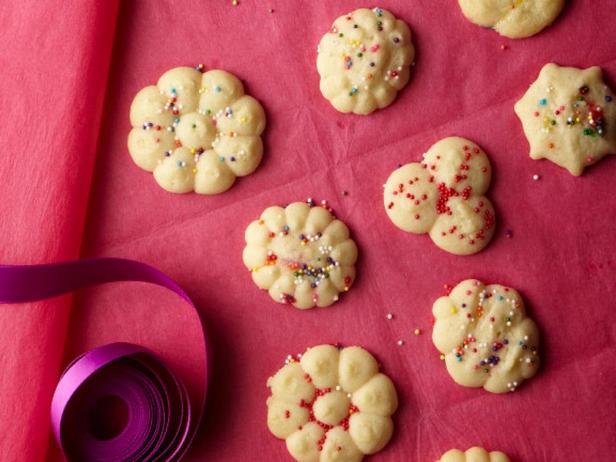 Масляное печенье (отсадное из шприц-пресса)