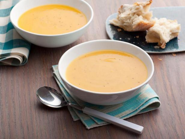 Суп-пюре с мускатной тыквой