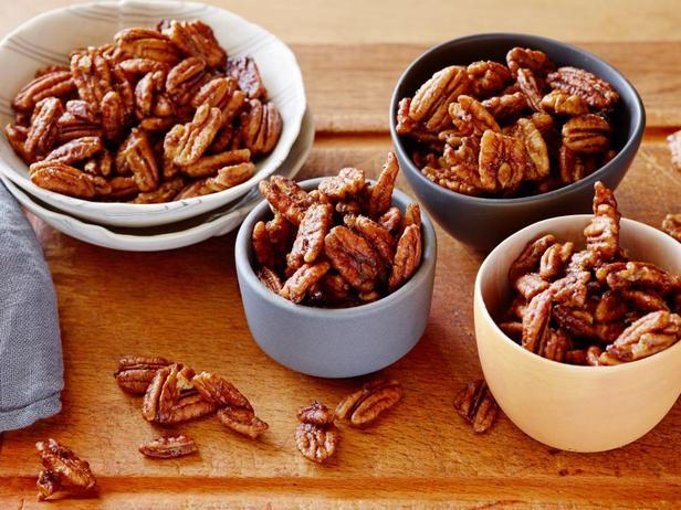 Орехи пекан в острой глазури