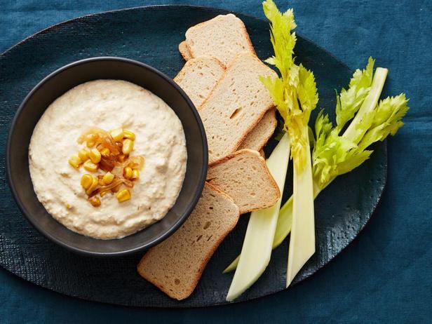 Кремовый дип-соус с кукурузой