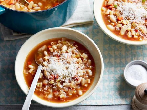 Фото Суп с фасолью (Паста фаджоли)