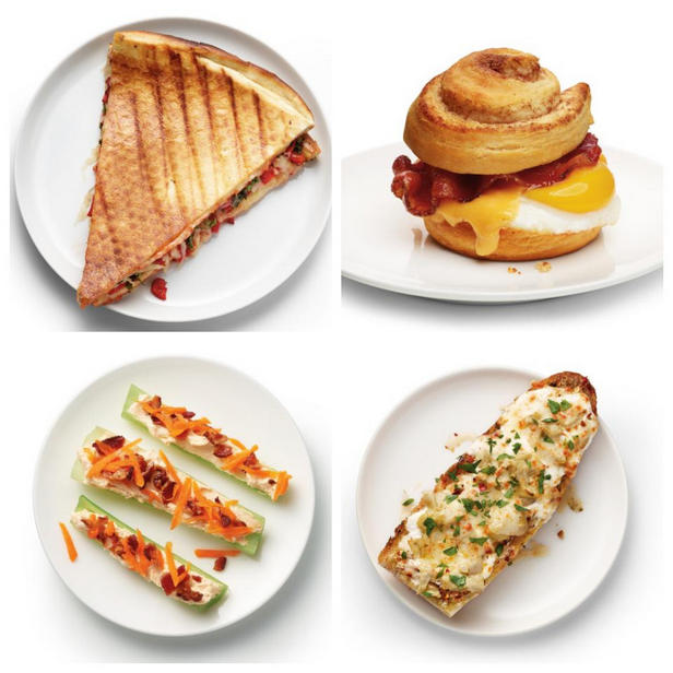 Фото 50 рецептов для поздних перекусов