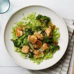 Курица в кунжуте с рисом из брокколи (диета Whole30)