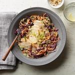 Тайская овощная лапша карри с курицей (диета Whole30)
