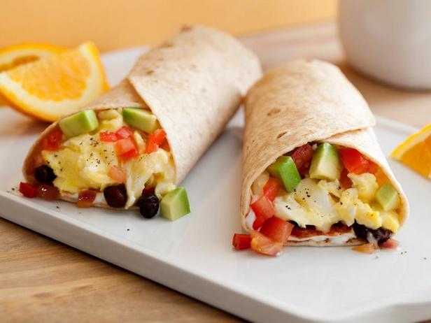 Фото Лепёшки с сыром и фасолью на завтрак