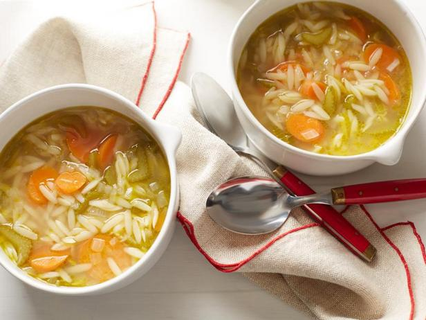 Фото Овощной суп с лапшой