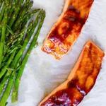 Ужин в духовке: лосось в глазури хойсин и капуста бок-чой